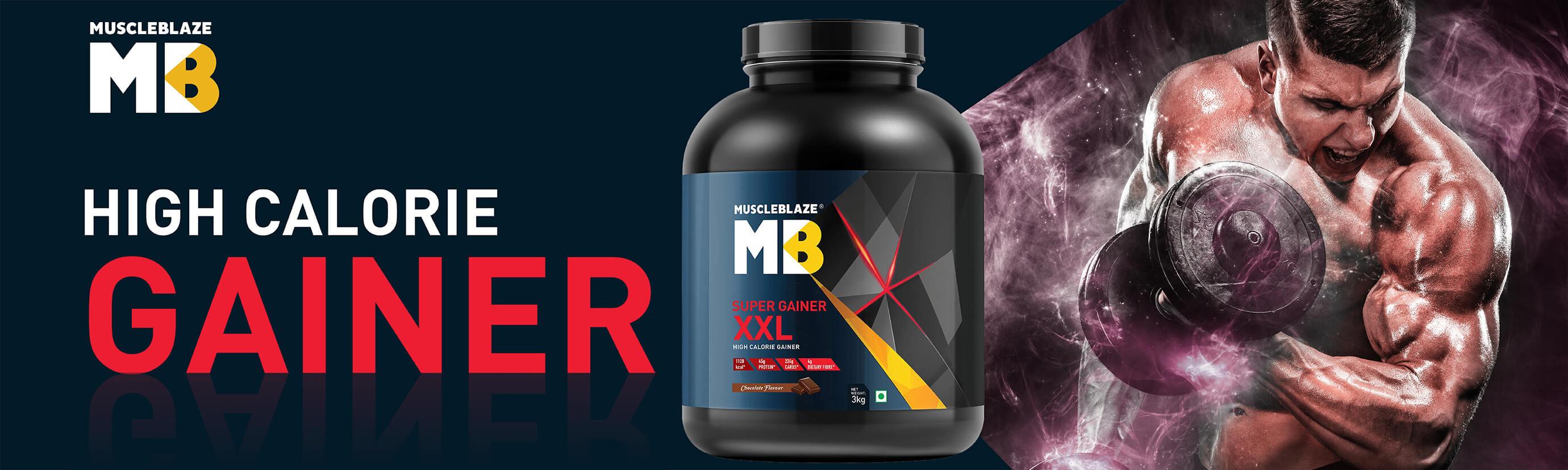 MuscleBlaze Super Gainer XXL